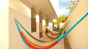 Hammocks at Hostel Humanity
